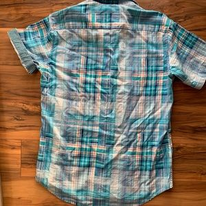 Robert Graham men's plaid casual button down S